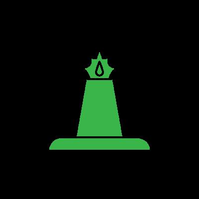 Gas Plant Icon